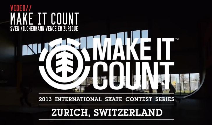 523ELEMENT Make it Count em Zurique II 4:55