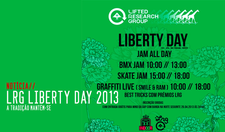 327Vem aí o L-R-G Liberty day 2013