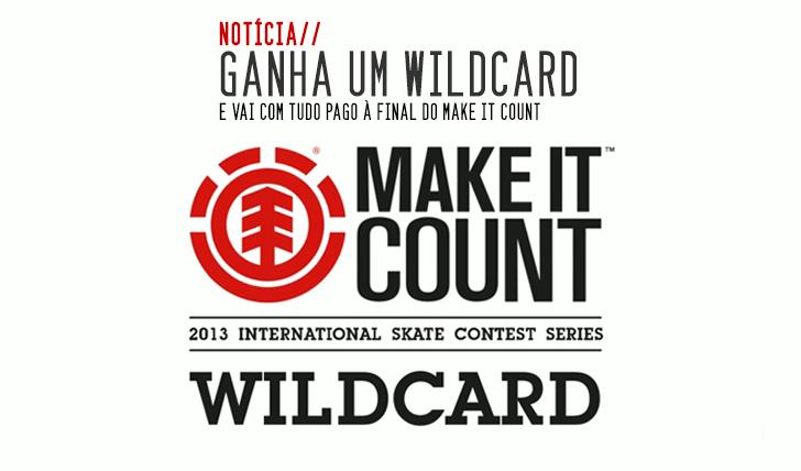 281ELEMENT oferece dois wildcards para a final europeia do MAKE IT COUNT