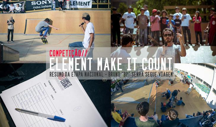 851ELEMENT Make it Count | Resumo da etapa