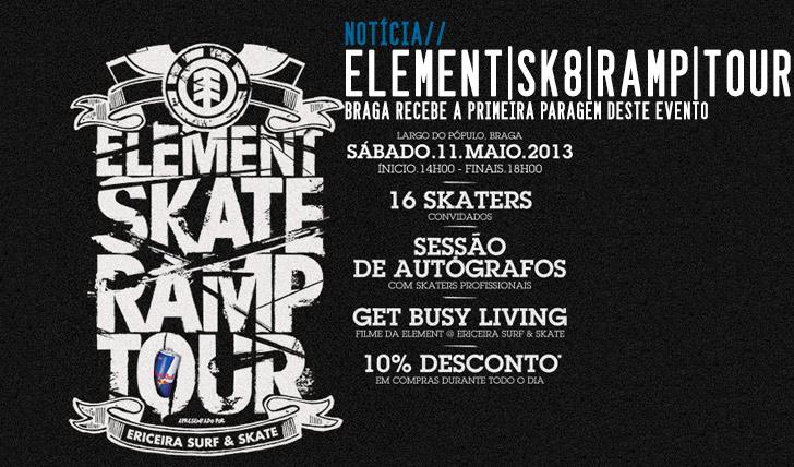906ELEMENT Skate Ramp Tour | Braga 11 Maio