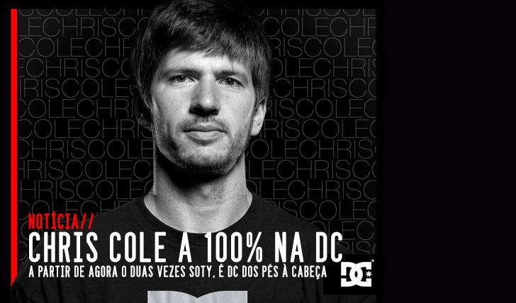 830Chris Cole calça e veste DC a 100%