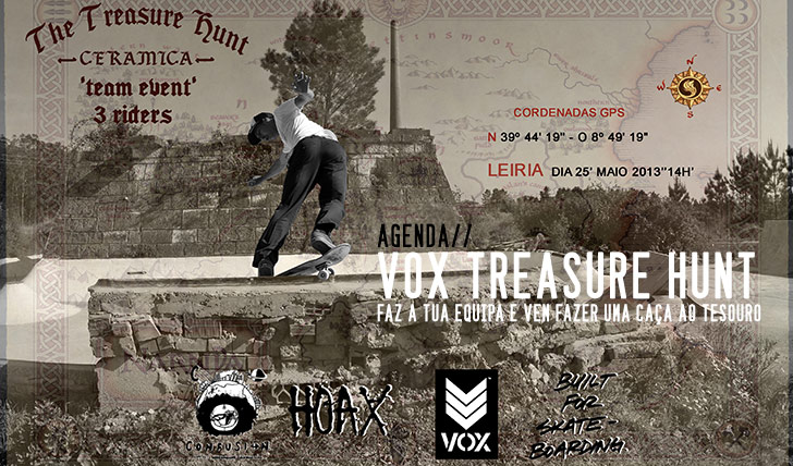 882Treasure Hunt by VOX | dia 25 de maio