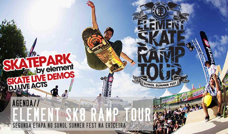 1612ELEMENT Skate Ramp Tour no Sumol Summer Fest