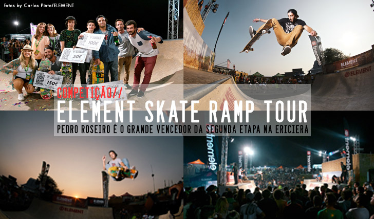 1938ELEMENT Skate Ramp Tour resumo da 2ª etapa Ericeira