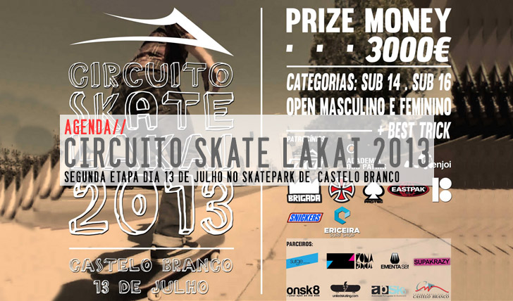 1958Circuito de Skate LAKAI 2013 | 2ª etapa Castelo Branco 13 de Julho