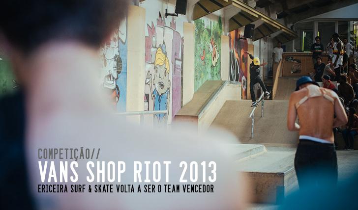 2912VANS SHOP RIOT 2013 Notícia + Slideshow