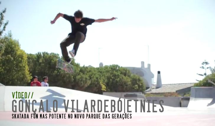 2895Etnies Portugal – Gonçalo Vilardebó – Skatepark Session || 1:43