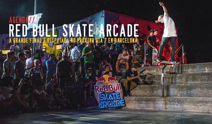 2664RED BULL Skate Arcade final mundial 7 Set.