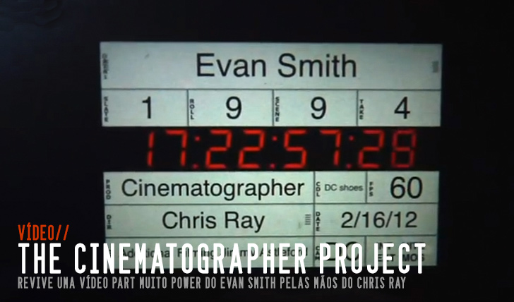 3764Chris Ray: Evan Smith – The Cinematographer Project || 4:25