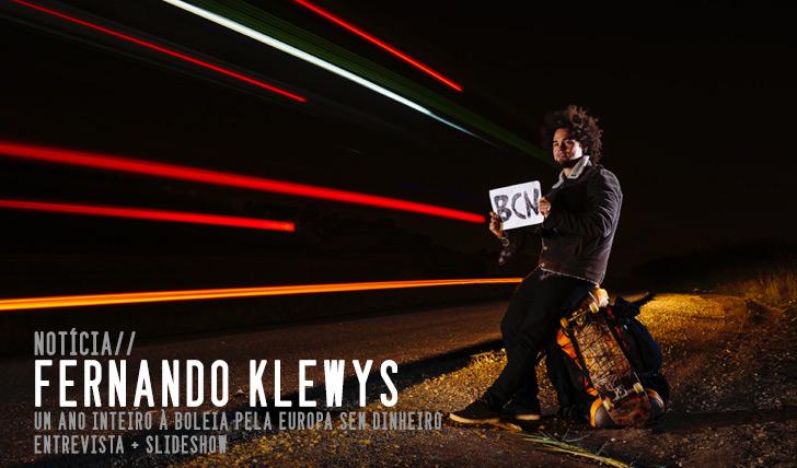 4080Fernando Klewys | Um ano a viajar à boleia pela Europa sem dinheiro