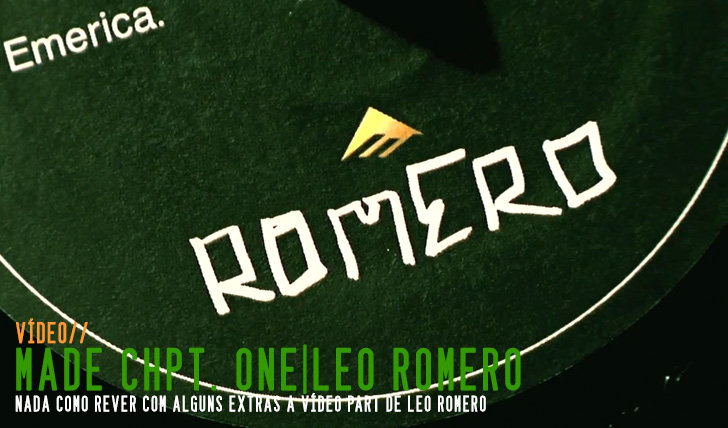4470EMERICA MADE| Chpt. One Leo Romero B-Side || 10:42