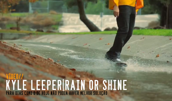 4464Kyle Leeper, Rain or Shine – Short  Film || 5:00