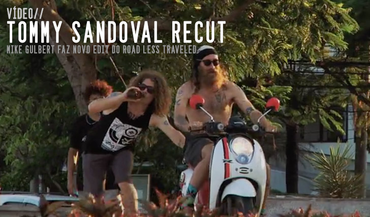 "4666Tommy Sandoval FALLEN ""Road Less Traveled"" Recut by Mike Gilbert 