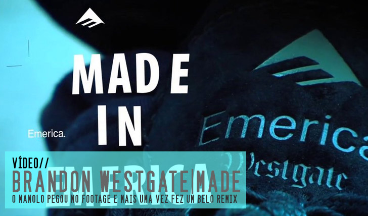 "4777Brandon Westgate – EMERICA ""MADE"" Remix by Manolos Tapes 