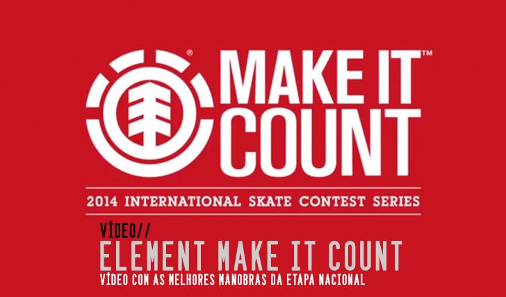5433ELEMENT Make it Count 2014|Vídeo