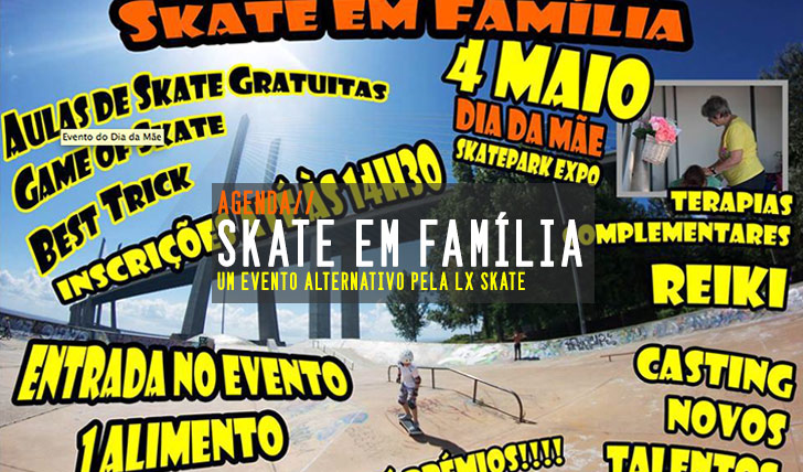5500LX Skate – Skate em Família