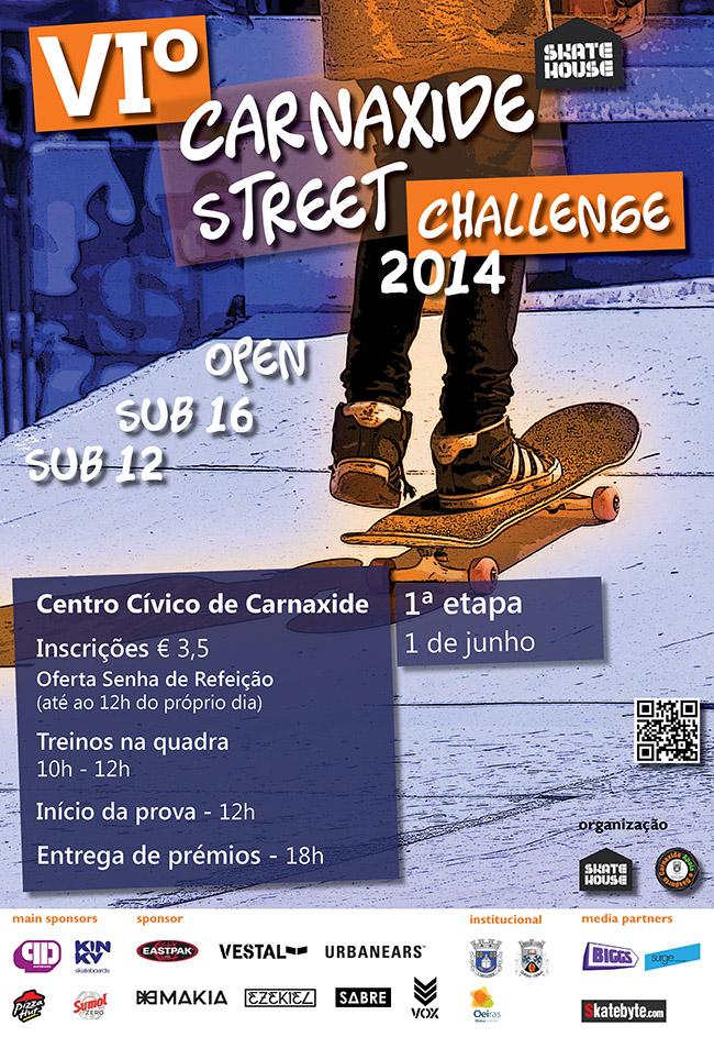 cartaz street challenge 2014