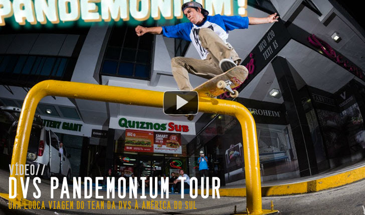 "5818DVS' ""Pandemonium"" Tour Video 