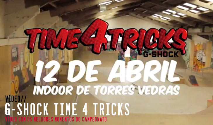 5573G-SHOCK Time 4 Tricks|Vídeo