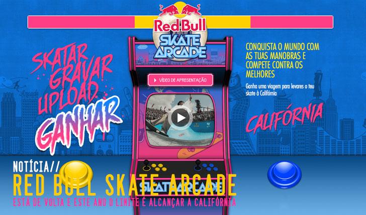 5857REDBULL SKate Arcade 2014