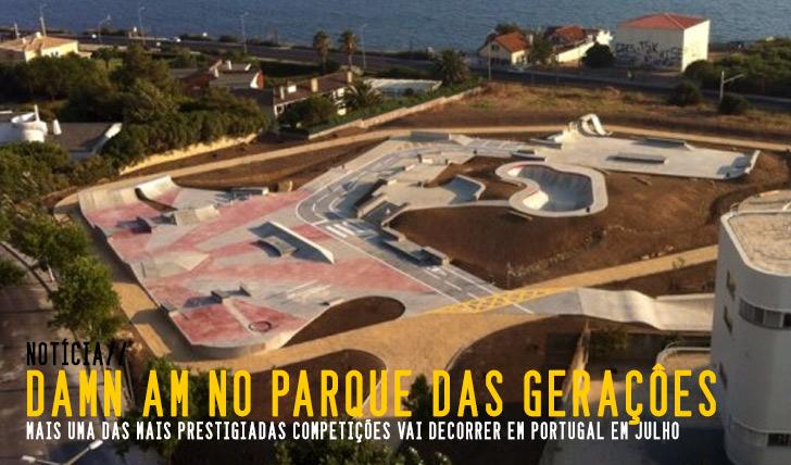 5971VOLCOM DAMN AM em Portugal no Parque das Gerações