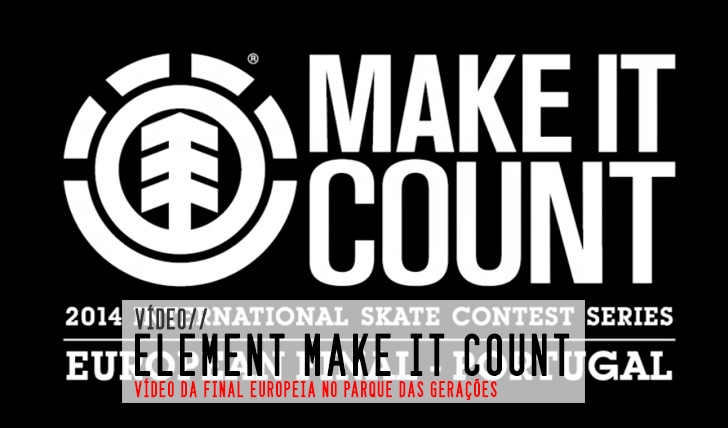 6388ELEMENT Make it Count|Vídeo da final Europeia || 3:54