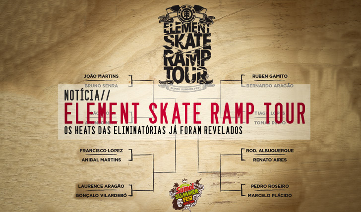 6357Heats do ELEMENT Skate Ramp Tour defenidos