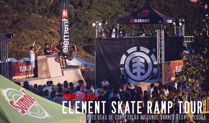 6391ELEMENT Skate Ramp Tour|Resumo da competição na Ericeira