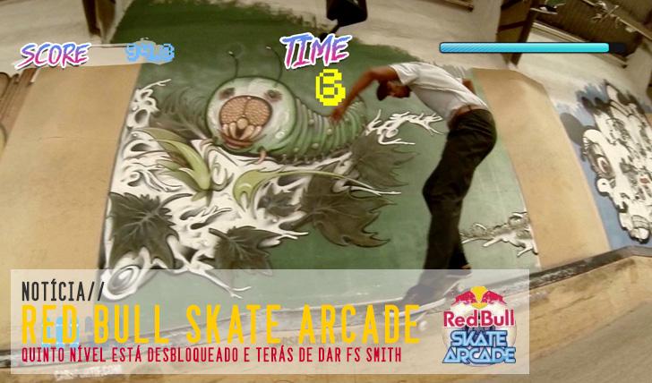6222RED BULL Skate Arcade 5º nível desbloqueado