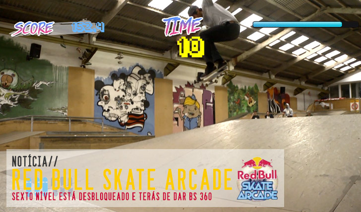 6353RED BULL Skate Arcade 6º nível desbloqueado