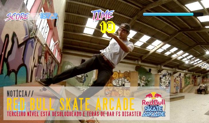6064RED BULL Skate Arcade|Nível 3 desbloqueado