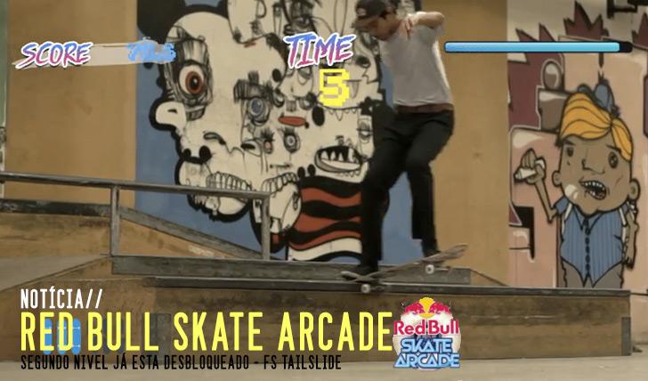 5993RED BULL Skate Arcade|Nível 2 desbloqueado