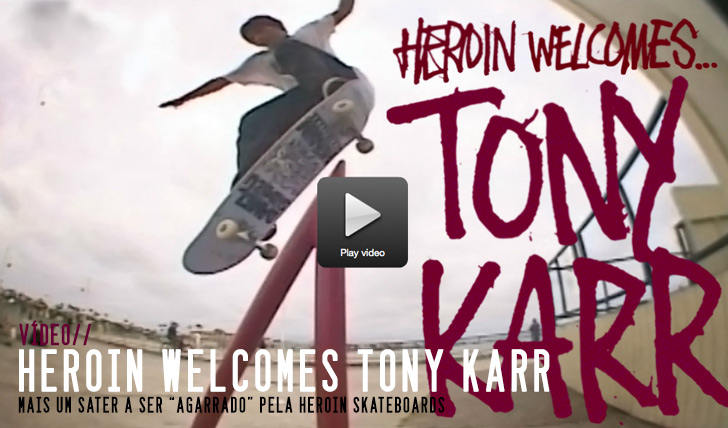 "6654Tony Karr's ""Welcome To Heroin"" Part 
