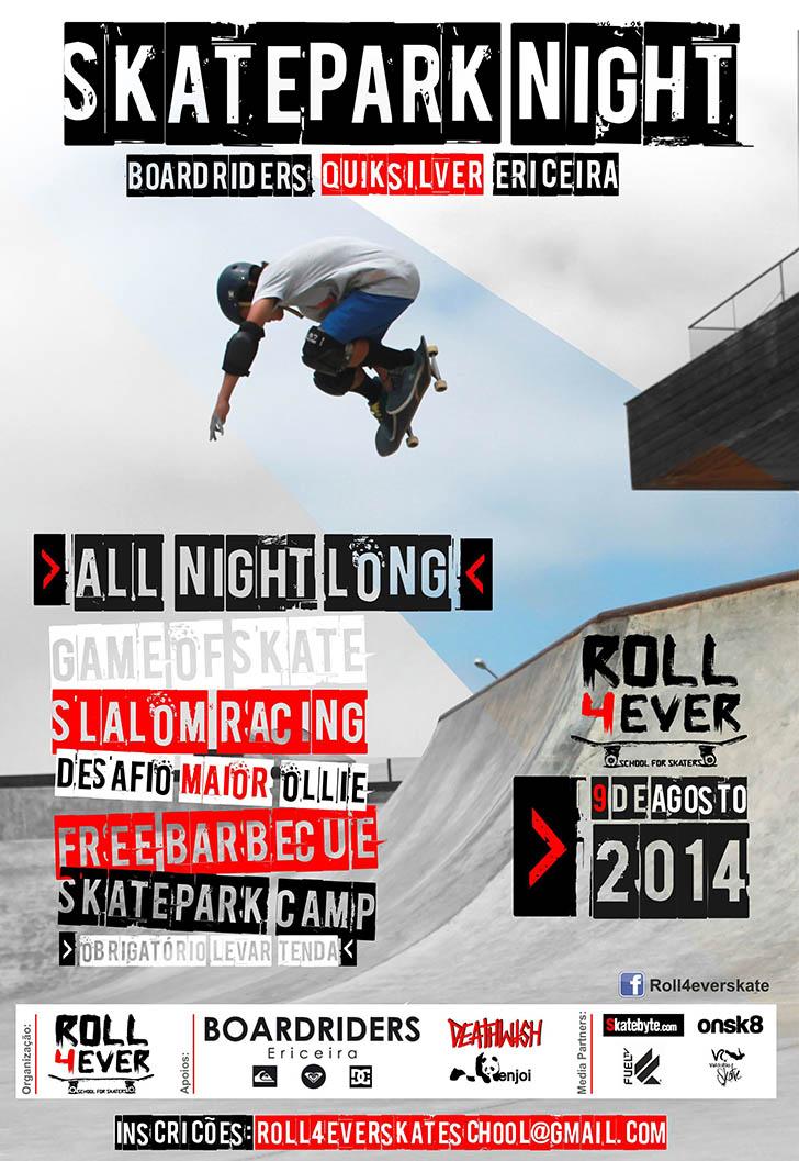 Poster R4E Night