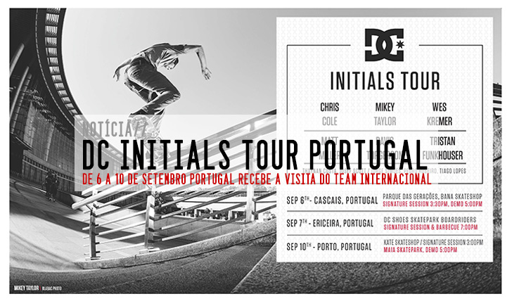 7155DC INITIALS TOUR Portugal