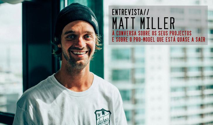 7211DC Initials Tour|Matt Miller em entrevista