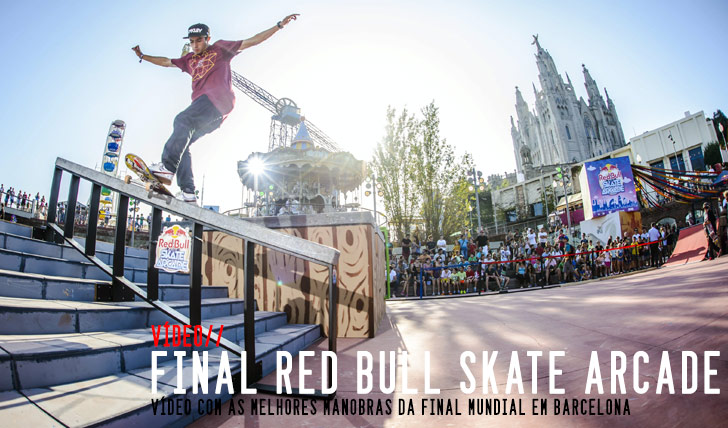 7503RED BULL Skate Arcade vídeo da final Barcelona || 2:54