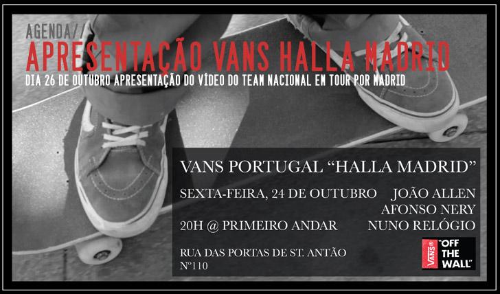 """7744Apresentação do  vídeo VANS """"Halla Madrid"""" 24 Outubro"""