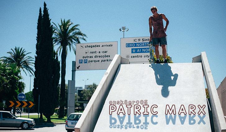 8158ONSK8ER#05 Patric Marx