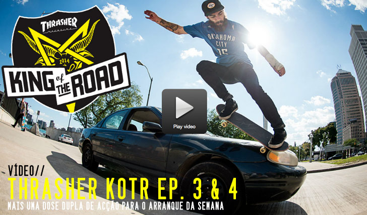 8214THRASHER:King of the Road Ep. 3 & 4