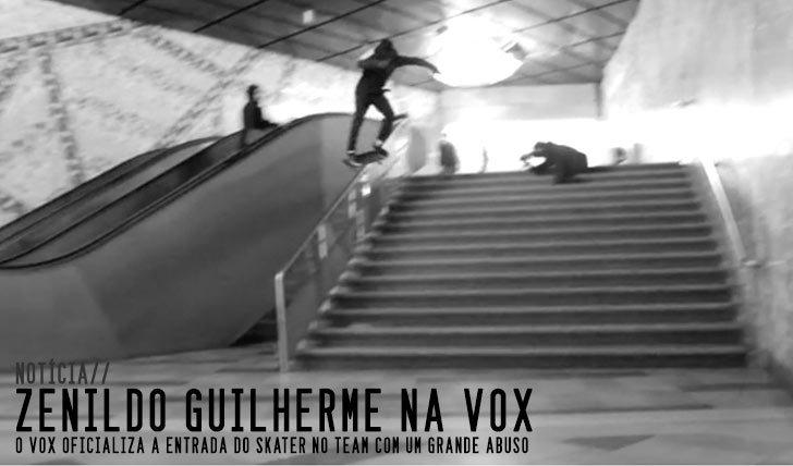 8223VOX Welcomes Zenildo Guilherme