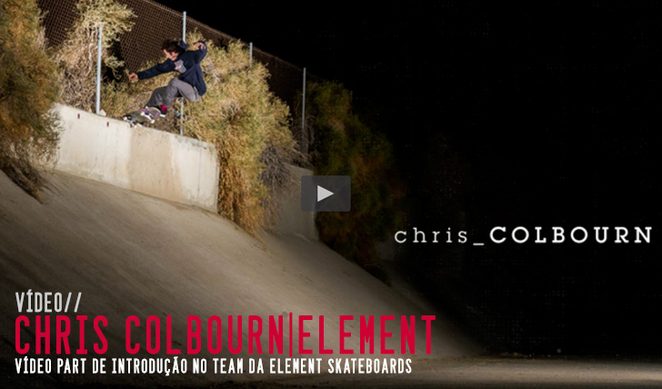 8464ELEMENT|INTRODUCING CHRIS COLBOURN||2:50
