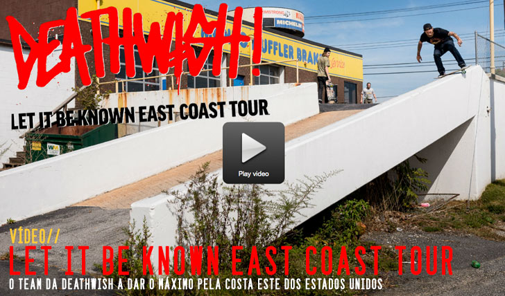 """8561DEATHWISH  """"Let It Be Known"""" Tour Video