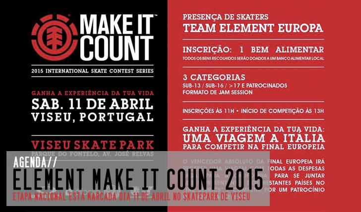 8798ELEMENT Make it Count 2015|Etapa nacional em Viseu 11 de Abril