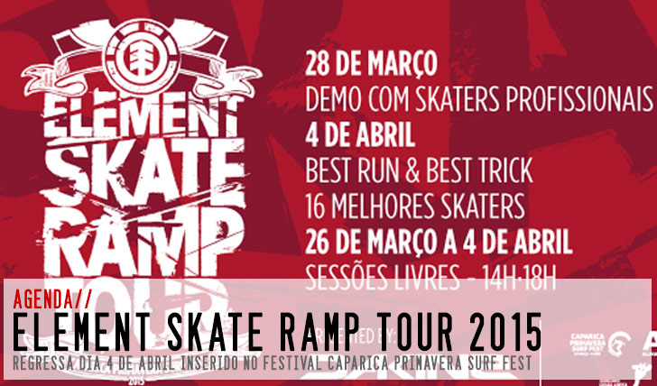 8744ELEMENT Skate Ramp Tour no Caparica Primavera Surf Fest