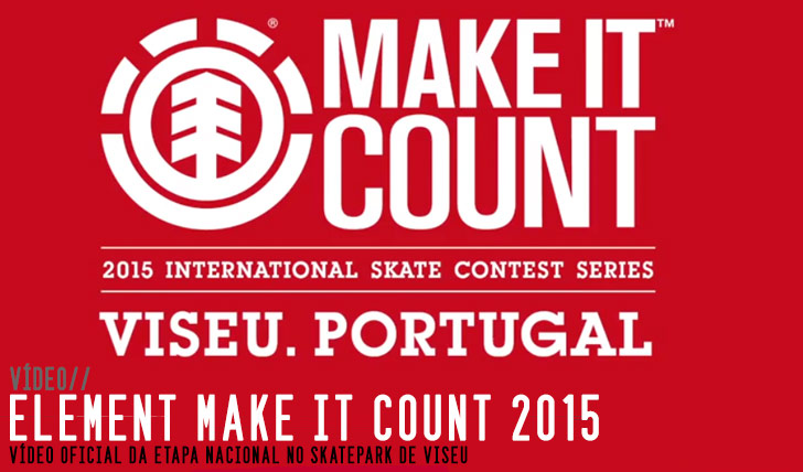 9066ELEMENT Make it Count 2015|Video etapa nacional Viseu||3:13