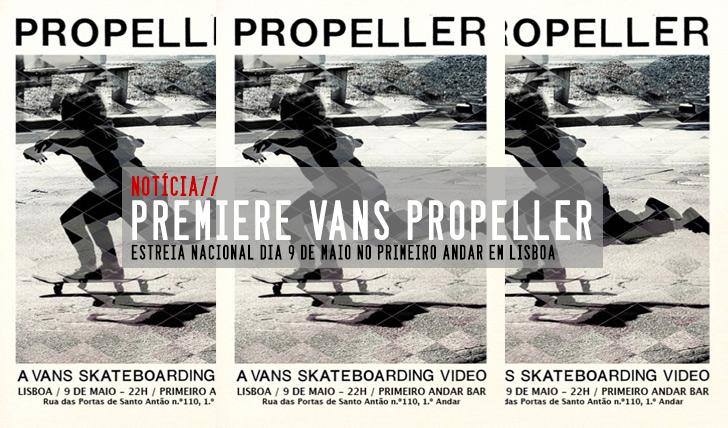 9242VANS Propeller|Estreia nacional 9 de Maio Lisboa
