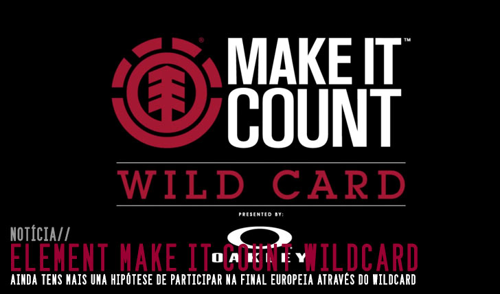 9313ELEMENT Make it Count | Wildcard 2015