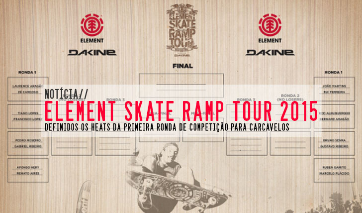 9745ELEMENT Skate Ramp Tour by DAKINE|Definidos os heats para Carcavelos